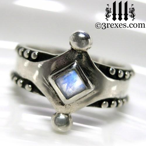 Medium Of Silver Wedding Rings