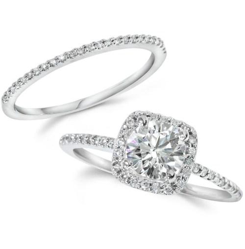 Medium Of Wedding Ring Sets