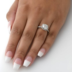 Small Of 2 Carat Diamond Ring