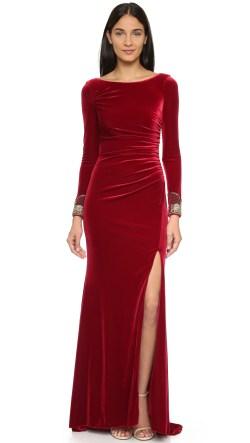 Small Of Long Sleeve Velvet Dress