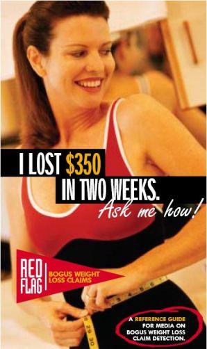 Banderas rojas en la pérdida de peso