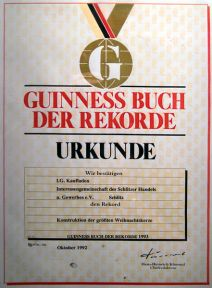 Diploma record Guinness