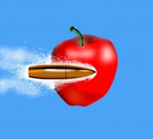 Bala manzana