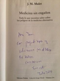 Medicina sin engaños_dedicatoria