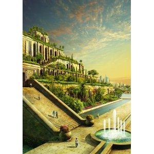 Interesting Evgeny Kazantsev Hanging Gardens Babylon Images Now Babylonian Hanging Gardens Images Scroll To See More Artstation Hanging Gardens