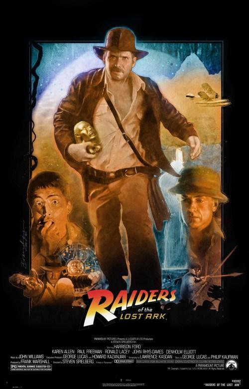 Medium Of Raiders Of The Lost Ark Poster
