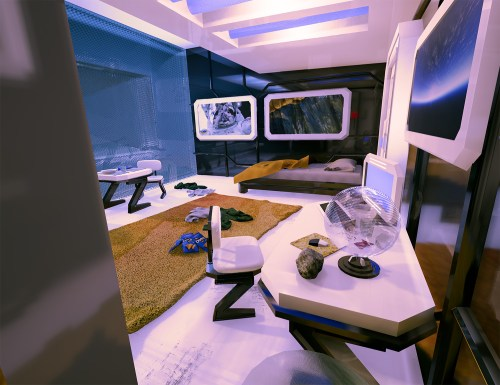 Medium Of Sci Fi Bedroom