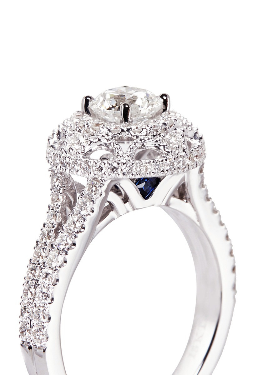 vera wang love ring 1 1 2 ct tw diamonds 14k white gold vera wang wedding bands Hover to zoom