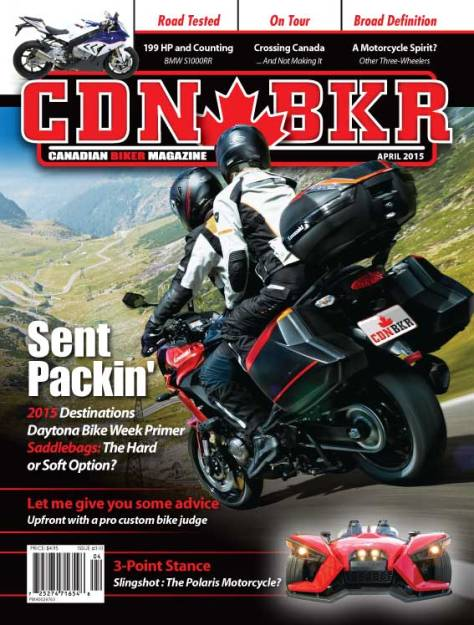 Canadian Biker - March 2015