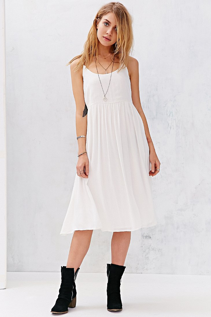 Fullsize Of White Flowy Dress