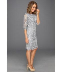 Small Of Lace Sheath Dress