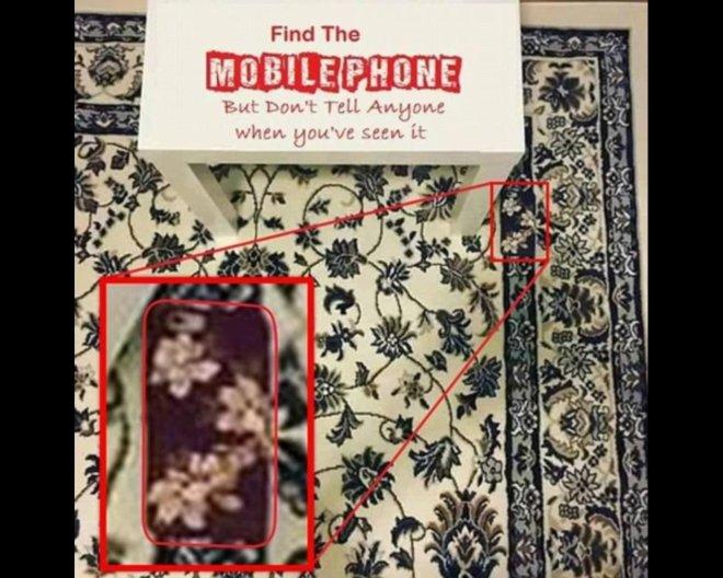 C'est le Game of Phones! Un portable caché rend fous des internautes!