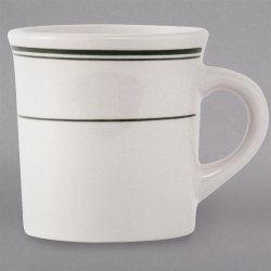 Seemly China Canton Mug Cup Green China Coffee Mugs Cappuccino Cups Oversized Cappuccino Cups