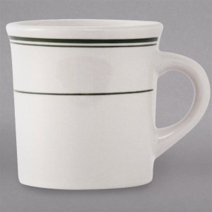 Seemly China Canton Mug Cup Green China Coffee Mugs Cappuccino Cups Oversized Cappuccino Cups