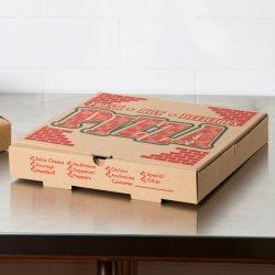 X 14 X 1 34 Kraft Corrugated Pizza Box 50case