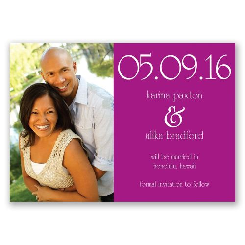 Medium Of Save The Date Magnets Cheap