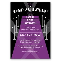 Thrifty Red Carpet Bar Mitzvah Invitation Red Carpet Bar Mitzvah Invitation Invitations By Dawn Bar Mitzvah Invitations Vistaprint Bar Mitzvah Invitations Hebrew Name