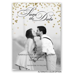 Peculiar G Polka Dots Save Date Magnet G Polka Dots Save Date Magnet Invitations By Dawn Save Date Magnets Weddings Save Date Magnet Calendar