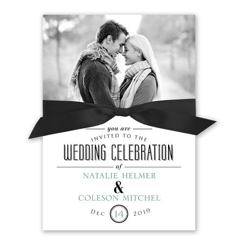 Medium Of Photo Wedding Invitations