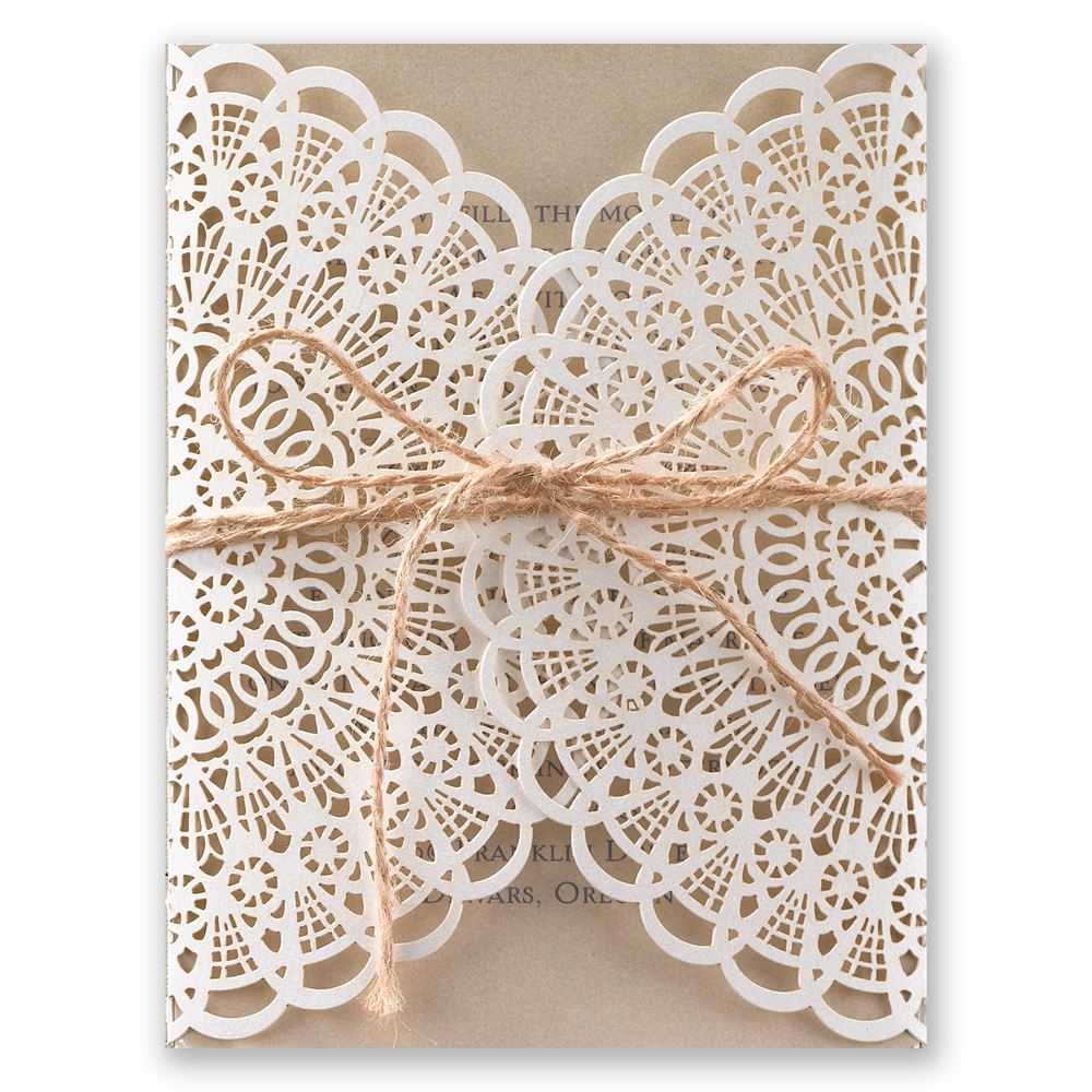 laser cut wedding invitations laser cut wedding invitations Beaming Beauty Laser Cut Invitation