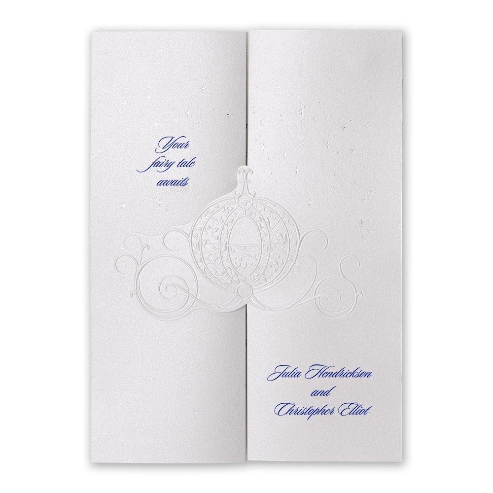 disney wedding invitations cinderella wedding invitations Disney Wedding Invitations Disney Royal Carriage Invitation Cinderella