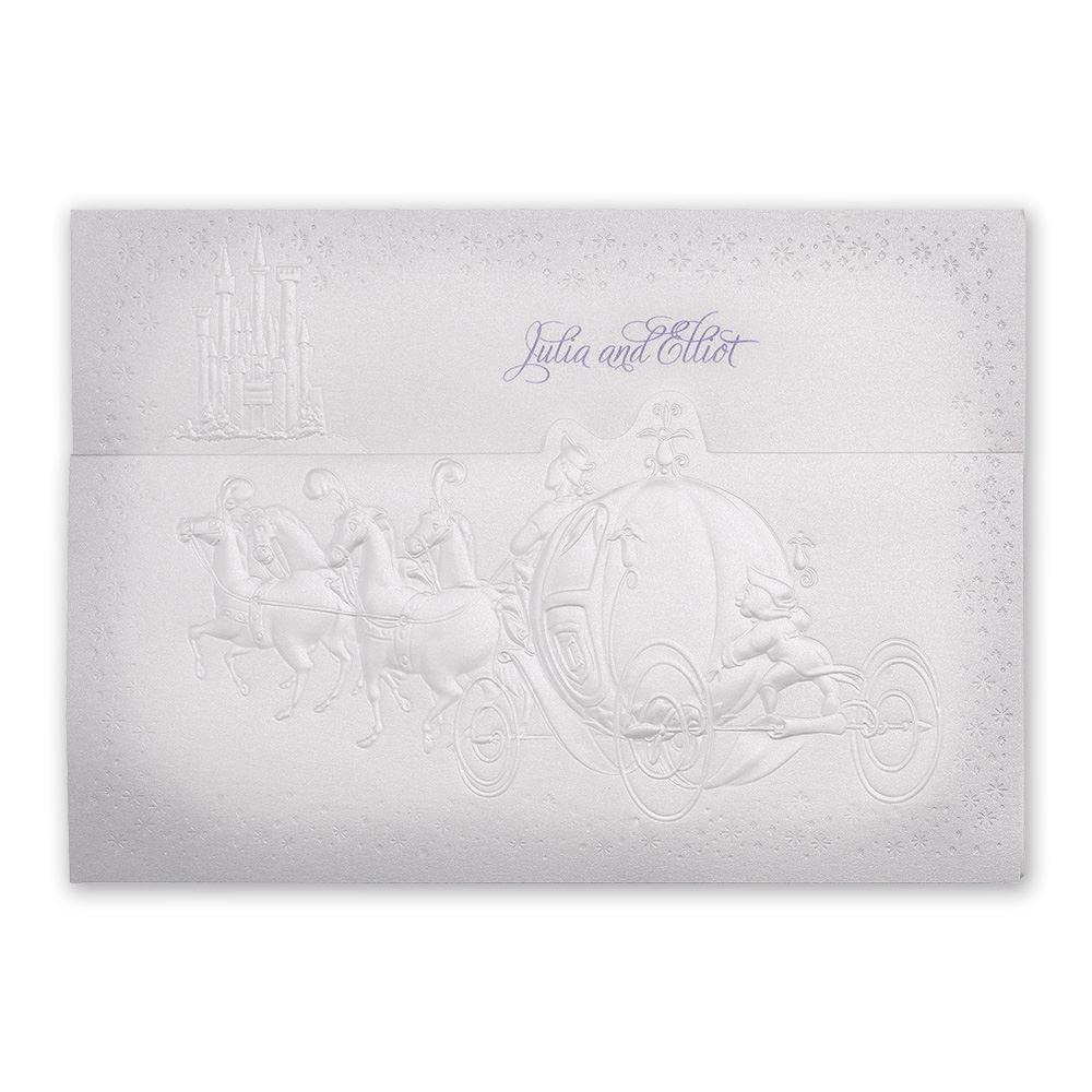 disney wedding invitations cinderella wedding invitations Disney Destined for Love Invitation Cinderella