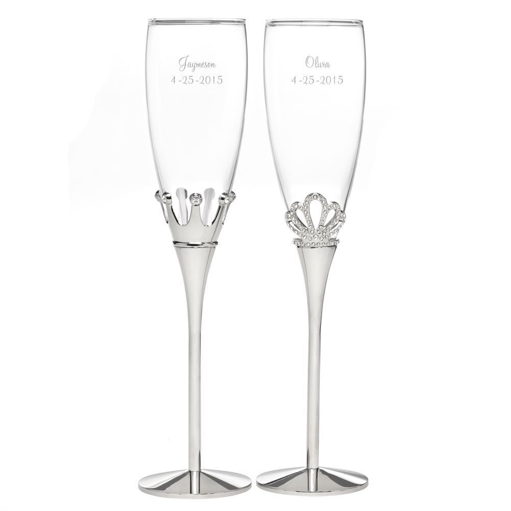 Fullsize Of Wedding Champagne Flutes