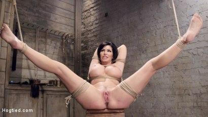 big tits tied fucked