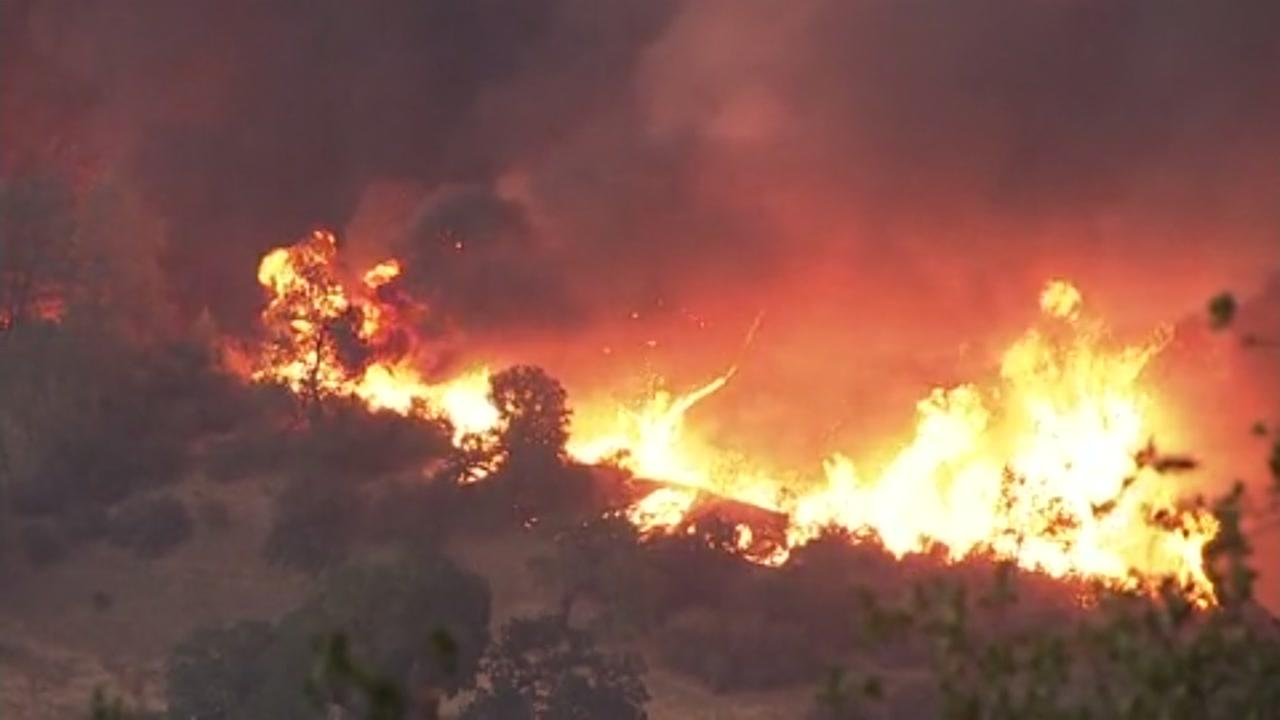 MAPS  Wildfires burning across California   abc7news com All evacuations lifted for Snell Fire in Napa County