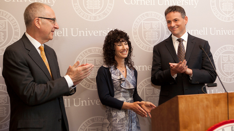 University launches  Engaged Cornell  with  50 million gift     Video thumbnail for University launches  Engaged Cornell  with  50 million  gift