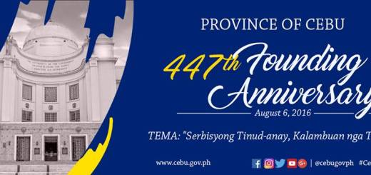 447th Cebu Founding Anniversary: August 6 2016 declared a special non-working holiday   Cebu Finest