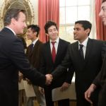 Unmesh G of CEC-2010-CS Batch Being Congratulated by the PM of Britain