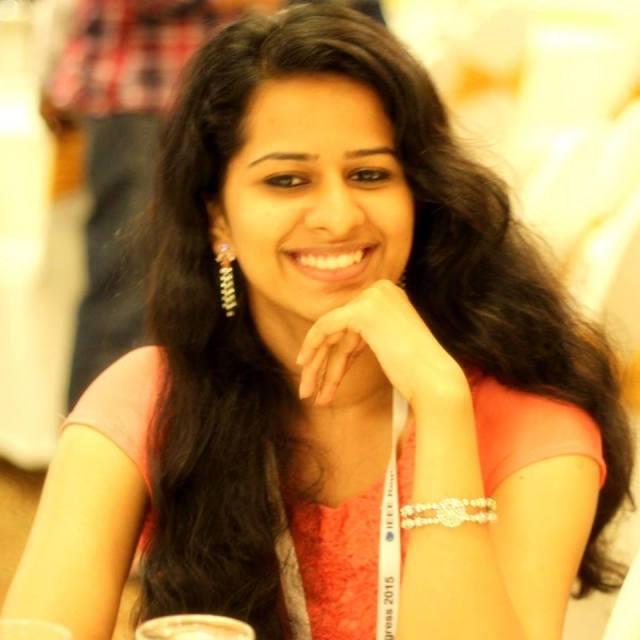Susmitha Babu CEC 2012-16 Best Outgoing Student
