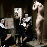 Seriously..Nuns sketching Nude outrage? Did the Art Inquisitors visit while I was asleep? lol.
