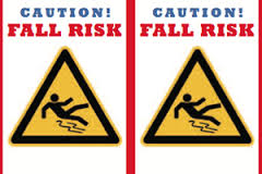 Caution Fall Risk