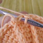 Step 5: Chain 12 and slip stitch into the stitch on the right of where you started