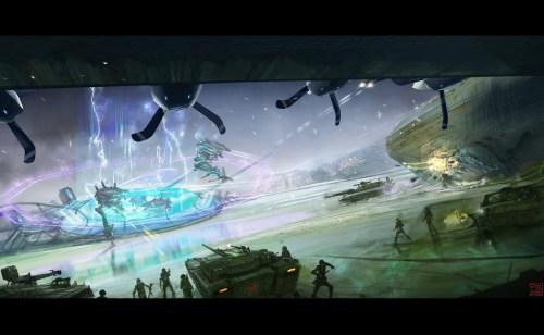 Hyper G-One Confrontation by Hideyoshi