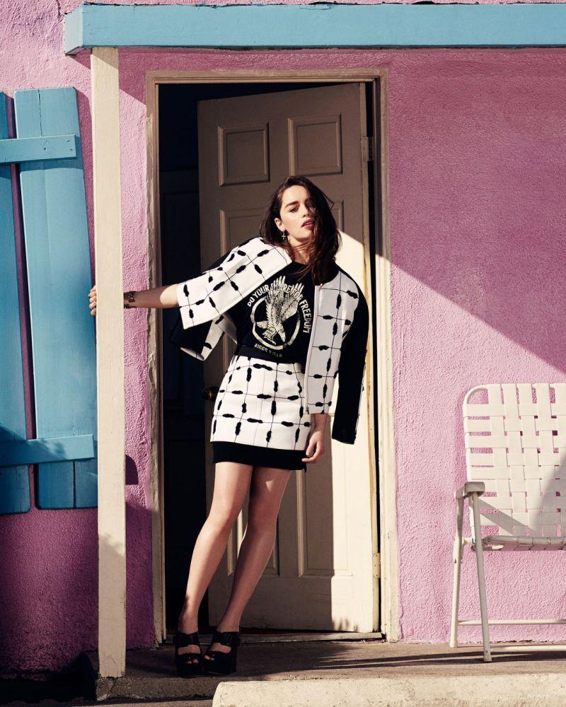 Emilia Clarke 2014 Photoshoot