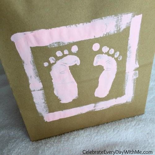 Medium Of Baby Foot Print