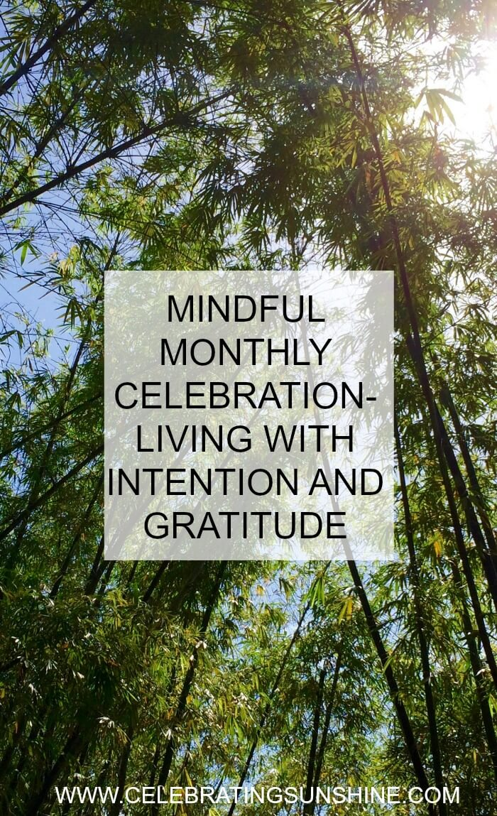 Monthly mindful celebration is my way of living more mindfully and acknowledging the things I am grateful for.