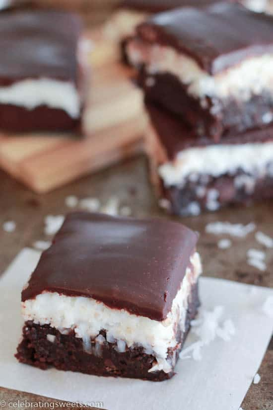 Coconut Brownies ~ Celebrating Sweets