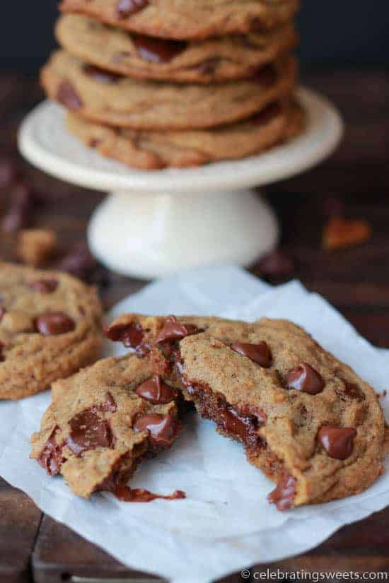 Espresso Chocolate Chip Cookies ~ Celebrating Sweets