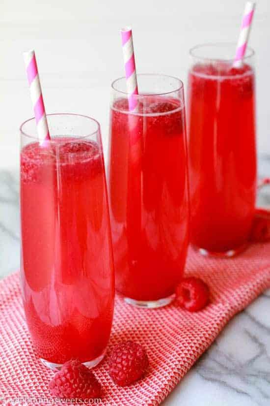 Raspberry Vanilla Soda - Celebrating Sweets