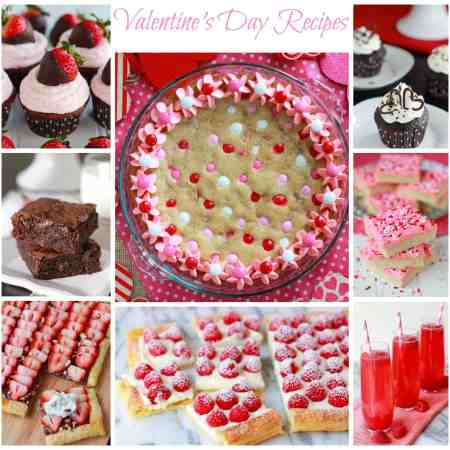 Valentine's Day recipes from Celebrating Sweets