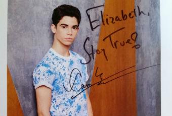 Cameron Boyce Autograph