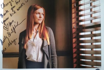 Darby Stanchfield Autograph