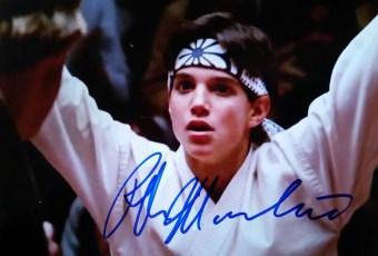 Ralph Macchio Autograph