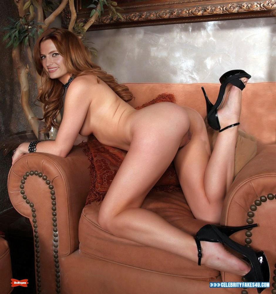Stana Katic Ass Sideboob Naked Fake 002 « CelebrityFakes4u.com
