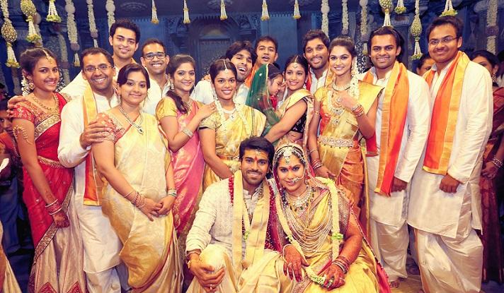 Ram Charan Teja Family Childhood Photos Celebrity
