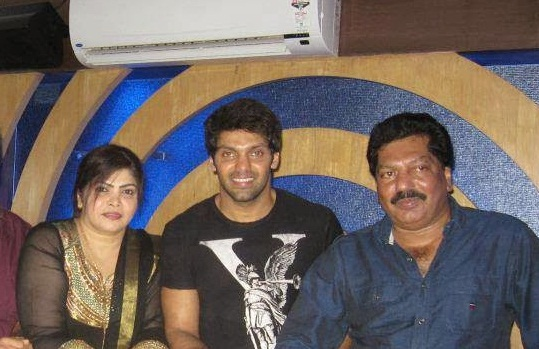 actor arya family photos and biography celebrity family